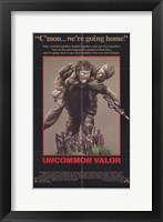 Framed Uncommon Valor