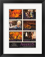 Framed Amadeus Collage