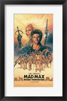 Framed Mad Max Beyond Thunderdome Vertical