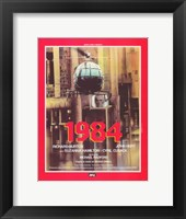 Framed 1984 French In Red