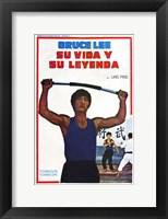 Framed Life and Legend of Bruce Lee