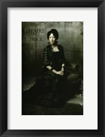 Deadwood Molly Parker as Alma Garret Framed Print