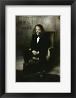 Deadwood Brad Courif as Doc Cochran Framed Print