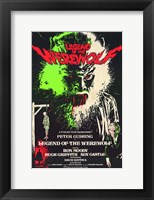 Framed Legend of the Werewolf