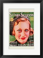 Framed Joan Crawford - Green Silver Screen