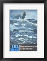 Framed S.O.S. Titanic