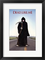 Dead Like Me Bubble Gum Framed Print