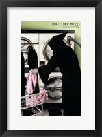 Dead Like Me Reaper Laundry Framed Print