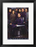 Framed Star Trek: Enterprise