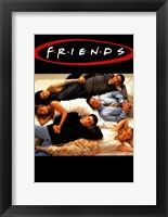 Framed Friends (TV) Lying on Bed