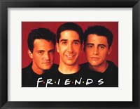 Framed Friends (TV) Joey Chandler & Ross