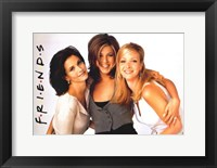 Framed Friends (TV) Monica Rachel & Phoebe