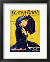 Framed Greta Garbos - Screen Book
