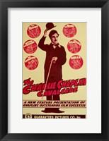 Framed Charlie Chaplin Cavalcade