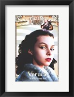 Framed Charlie and the Chocolate Factory Veruca