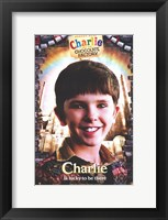 Framed Charlie and the Chocolate Factory Charlie