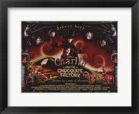 Framed Charlie and the Chocolate Factory Horizontal