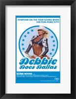Framed Debbie Does Dallas