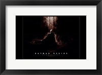 Batman Begins Summer 2005 Framed Print
