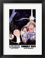 Framed Family Guy Star Wars Jedi