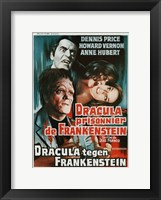Framed Dracula Prisoner of Frankenstein/Werewolf's Shadow