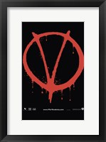 Framed V for Vendetta Logo