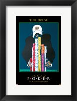 World Series of Poker Full House Framed Print