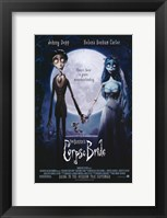 Framed Tim Burton's Corpse Bride Johnny Depp Helena Bonham Carter