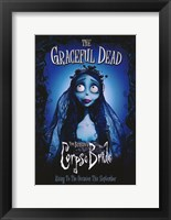 Framed Tim Burton's Corpse Bride Graceful Dead