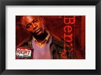 Rent - Benny Framed Print