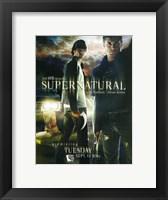 Framed Supernatural (TV) Premiere