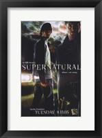 Framed Supernatural (TV) Dean & Sam Winchester