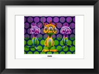 Framed Bunnnie Rabbbits