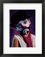 Framed Tramp Clown Boy