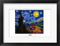 Framed Muslim Stary Night