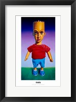 Framed Mars Simpson