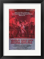 Framed Red Heat
