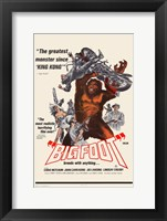Framed Bigfoot