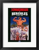 Framed Hercules in New York