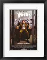 Framed Find Me Guilty