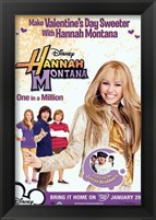 Framed Hannah Montana - One in a Million - style C