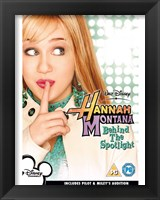 Framed Hannah Montana - Miley Cyrus - Behind the Spotlight - style F