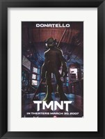 Teenage Mutant Ninja Turtles Donatello Framed Print