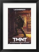 Teenage Mutant Ninja Turtles - Leonardo Framed Print