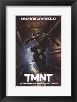 Teenage Mutant Ninja Turtles Michaelangelo Framed Print