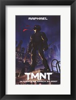 Teenage Mutant Ninja Turtles Raphael Framed Print