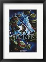 Framed Teenage Mutant Ninja Turtles TMNT 3.23.07