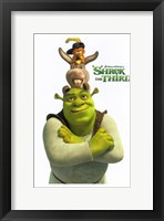 Framed Shrek the Third Main Characters