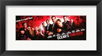 Framed Ocean's Thirteen