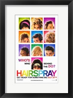 Framed Hairspray - who's who behind the do?